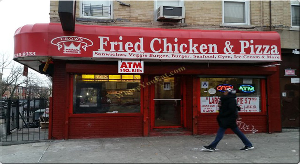Salads, we serve the best : Crown Fried Chicken 399 mother Gaston Boulevard Brooklyn NY 11212,USA