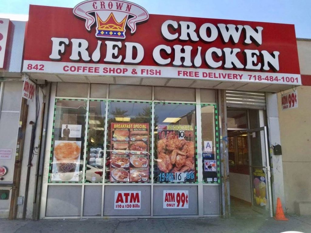 The Best Crown Fried Chicken Menu