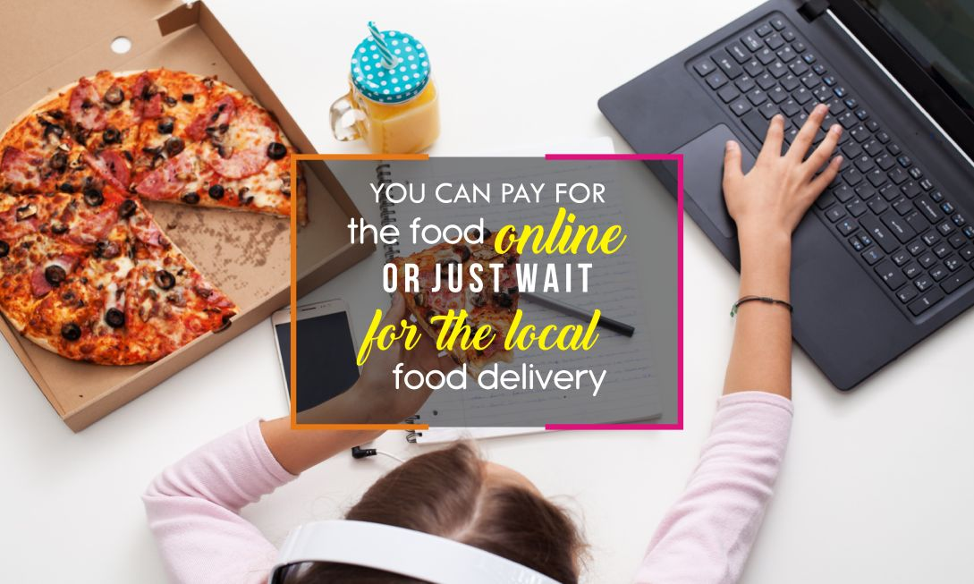pay online or local food delivery