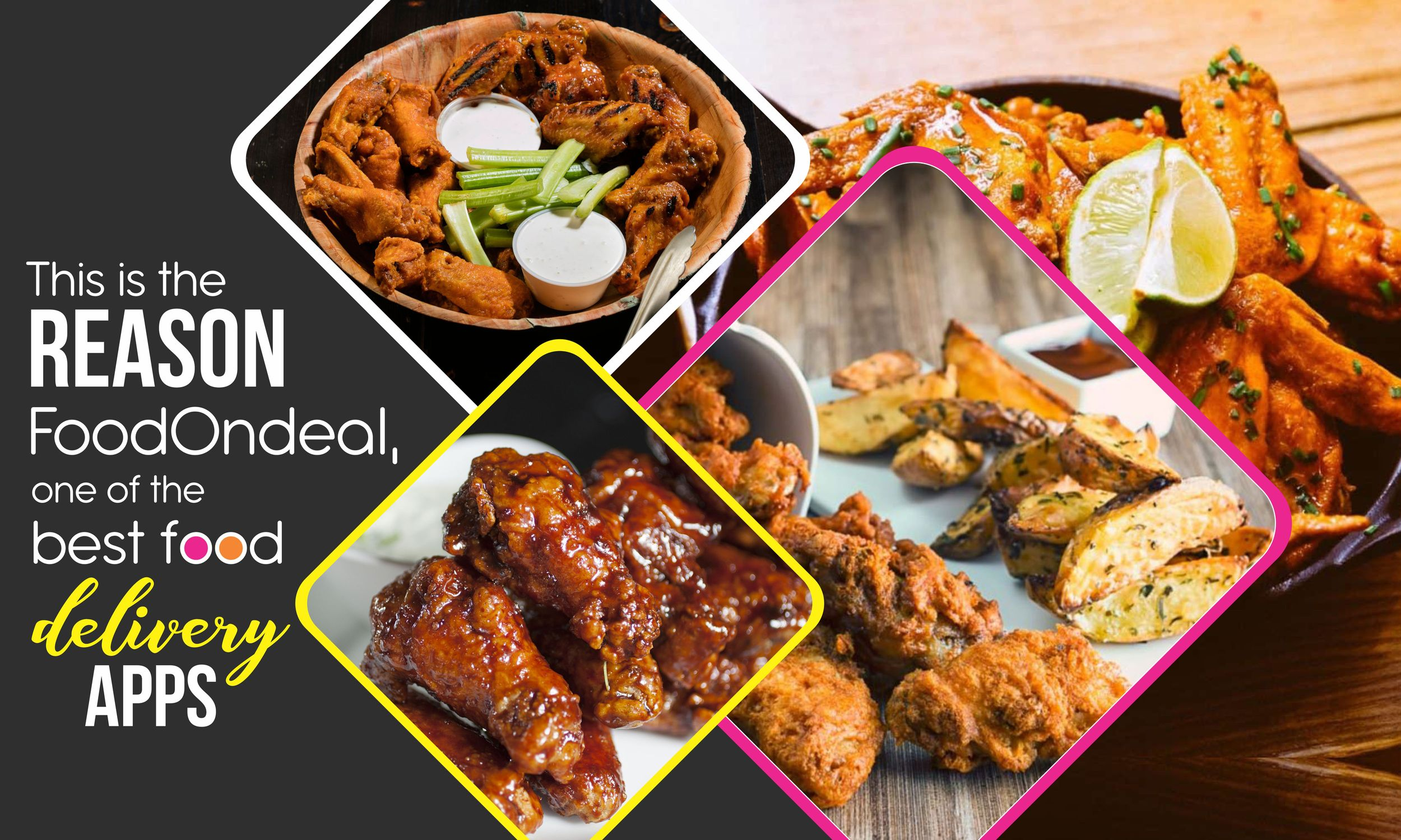 reason of best food delivery apps of foodondeal