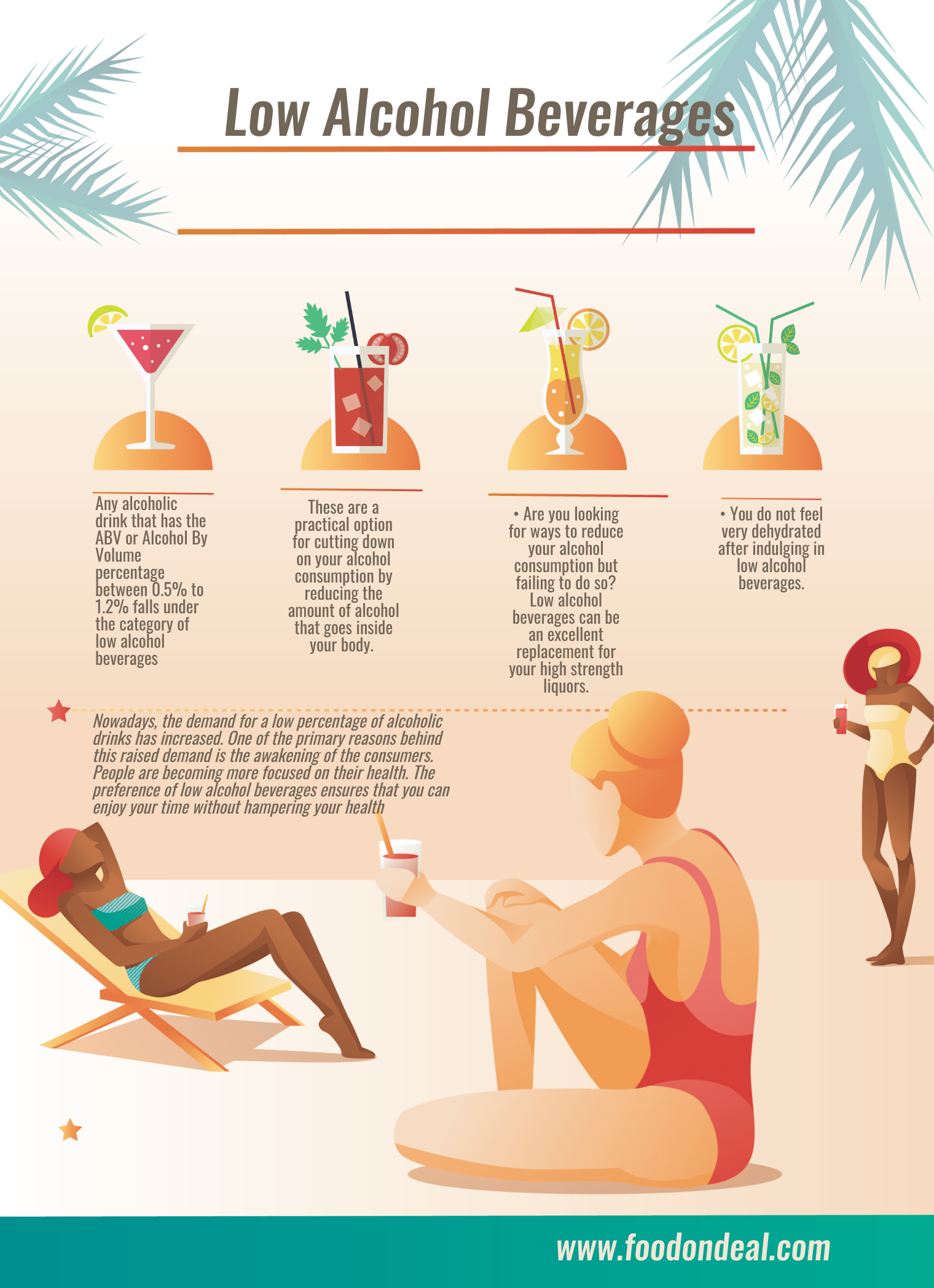 low alcohol beverages